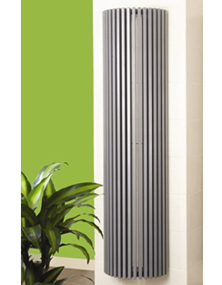 Related Apollo Bassano Vertical 475 x 1800mm Half Round White Radiator