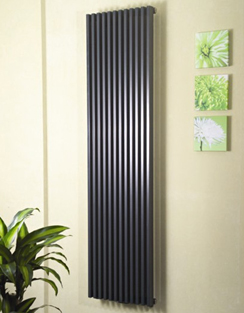 More info Apollo Bassano Vertical Single Tubed Designer Radiator White 300 x 1800mm