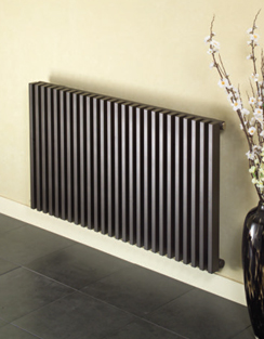 More info Apollo Bassano Single Tubed White Horizontal Radiator 1200 x 600mm