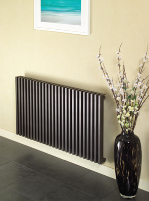 Apollo Bassano Double Tubed White Horizontal Radiator 1000 x 600mm
