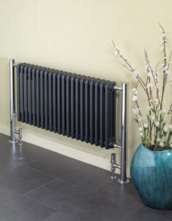 More info Apollo Bologna Horizontal Steel Column Radiator 660 x 730mm
