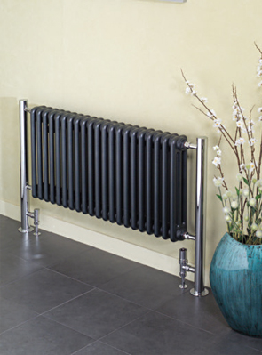 Apollo Bologna Horizontal Steel Column Radiator 1250 x 730mm