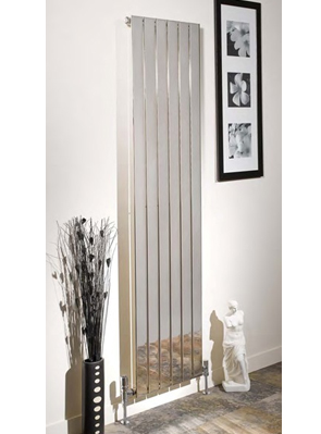 Apollo Capri Single Panelled Chrome Designer Radiator 300 x 1800mm