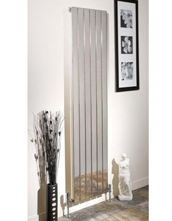 More info Apollo Capri Single Panelled Chrome Designer Radiator 600 x 1800mm