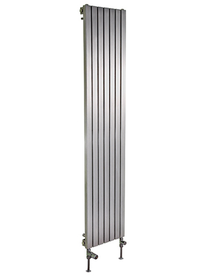 Apollo Ferrara 500 x 2000mm Vertical Stainless Steel Radiator