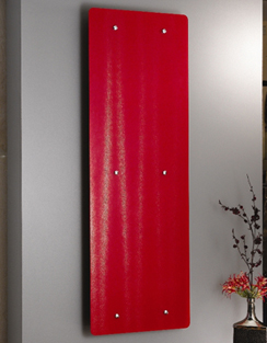 Related Apollo Ferrara Red Glass 500 x 1420mm Stainless Steel Vertical Radiator