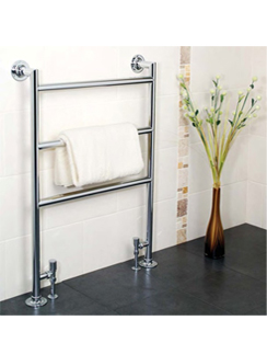 More info Apollo Siena Chrome Contemporary Towel Rail 695 x 956mm