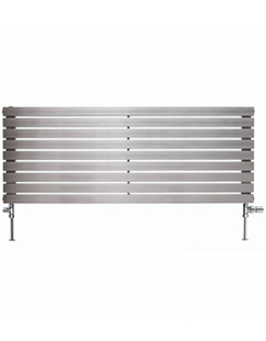 Related Apollo Ferrara 1200 x 400mm Horizontal Stainless Steel Radiator